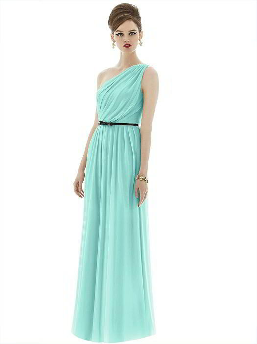 One-shoulder Bridesmaid Dresses are the Height of Sophistication
